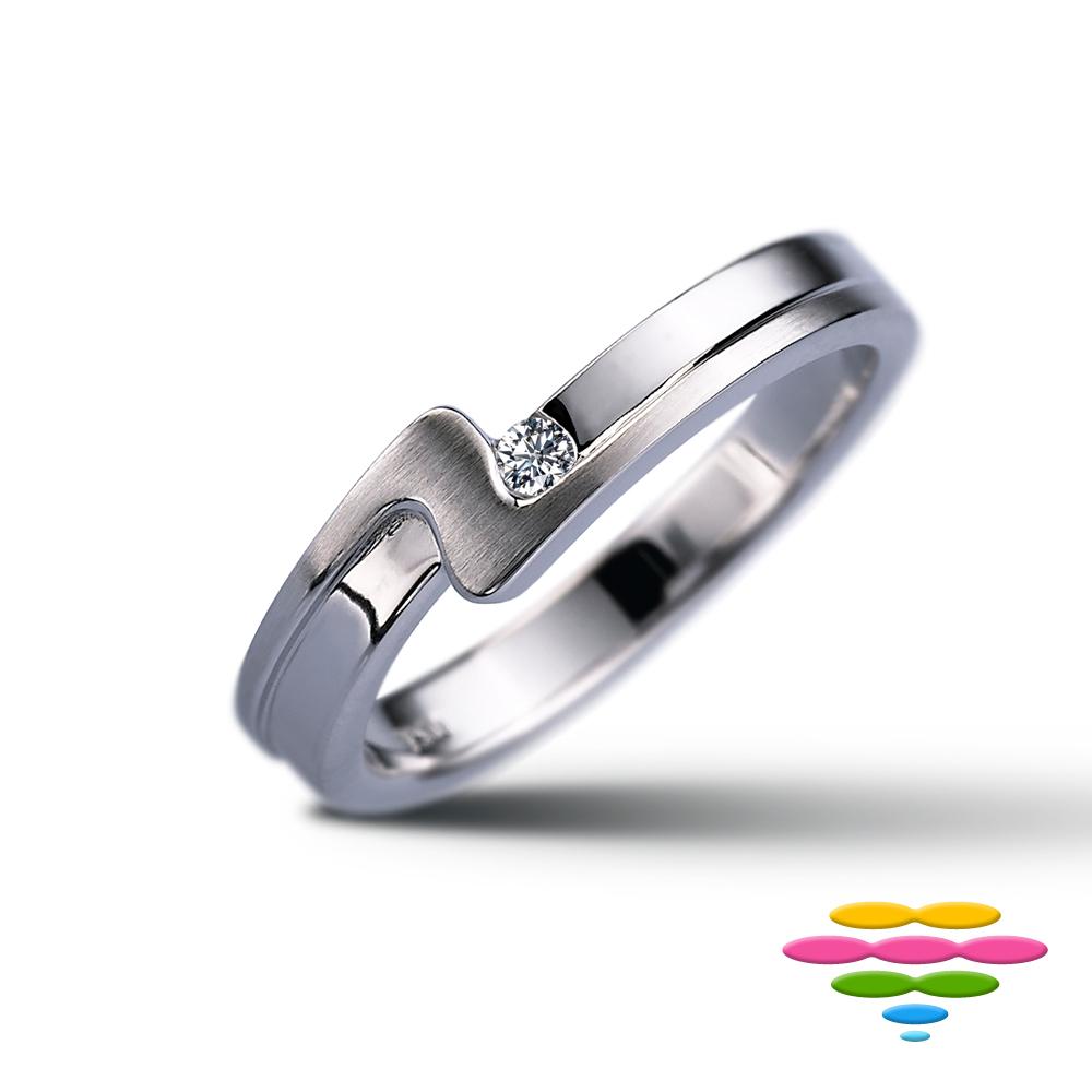 彩糖鑽工坊 鑽石戒指-細版 (2選1) 緣份系列 (單色款)