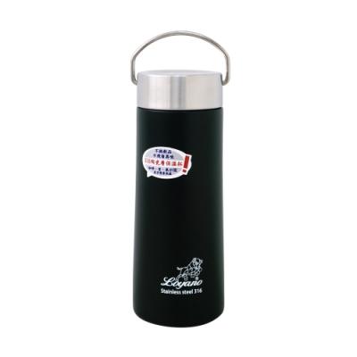 LOYANO羅亞諾 316陶瓷層保溫瓶杯550ml(曜石黑) LY-074