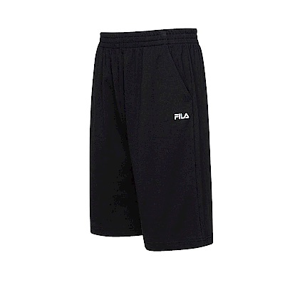 FILA 男款短褲-黑色 1SHT-1517-BK