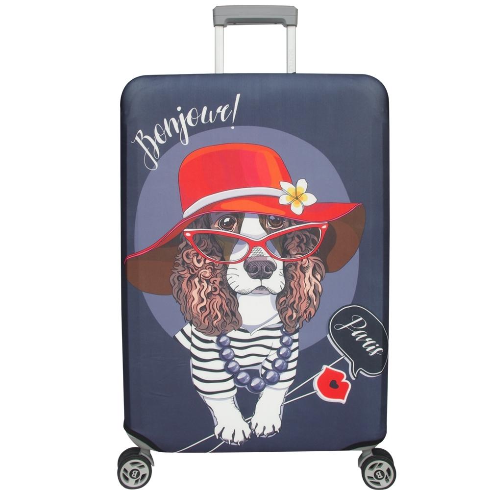 新一代 優雅可卡行李箱保護套(29-32吋行李箱適用)一個