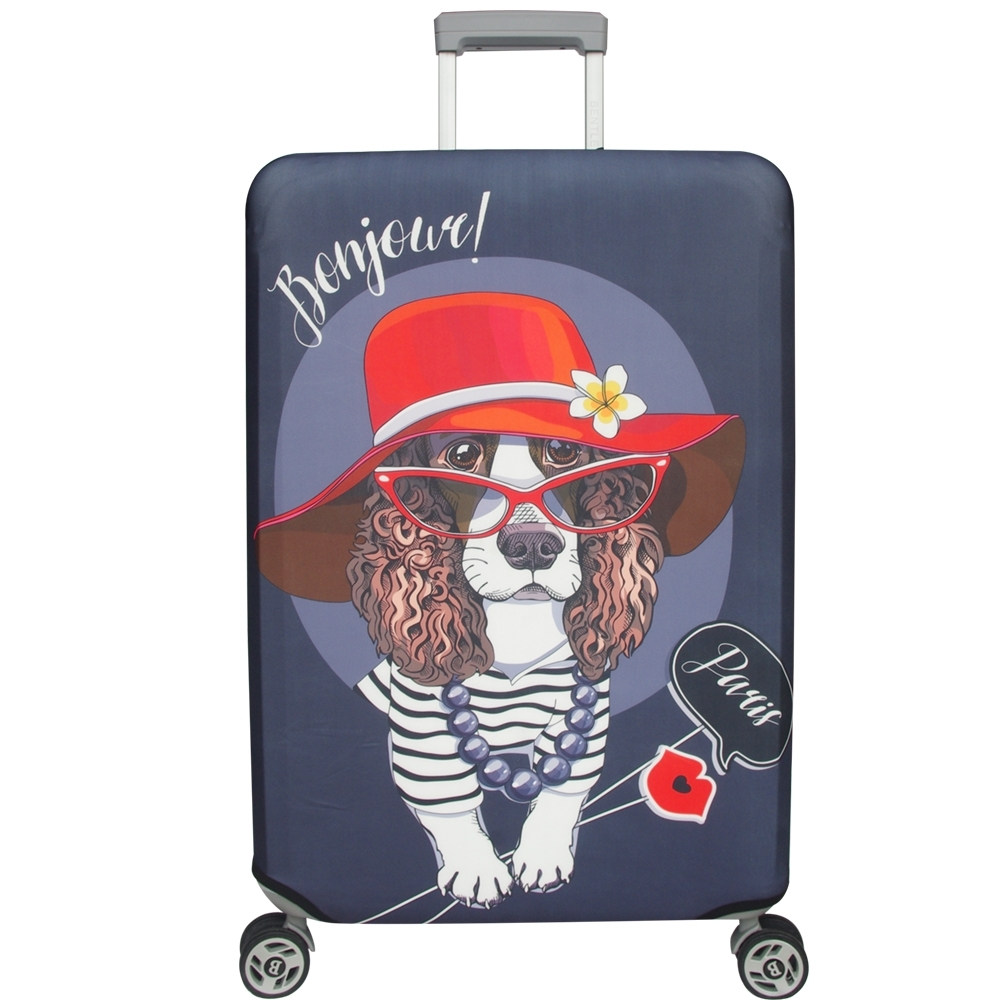 新一代 優雅可卡行李箱保護套(21-24吋行李箱適用)一個