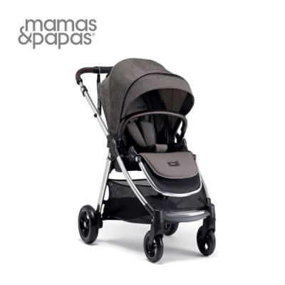 【Mamas & Papas】穿山甲雙向手推車XT3(溫暖灰)