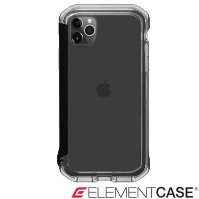 美國Element Case iPhone 11 Pro Max Rail 軍規殼-晶透黑