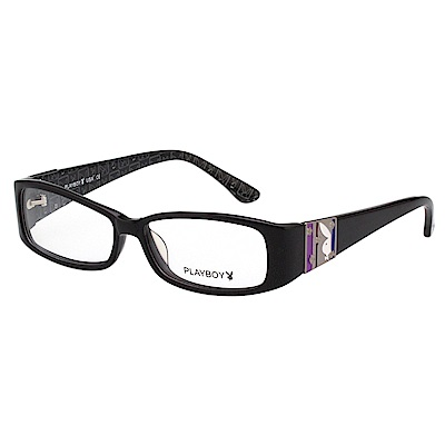 PLAYBOY-時尚光學眼鏡-黑色-PB85057