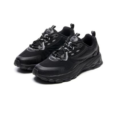 FILA BUBBLE TR 慢跑鞋-黑 4-J029V-001