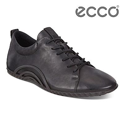 ECCO VIBRATION 1.0 活力輕巧運動休閒鞋 女-黑