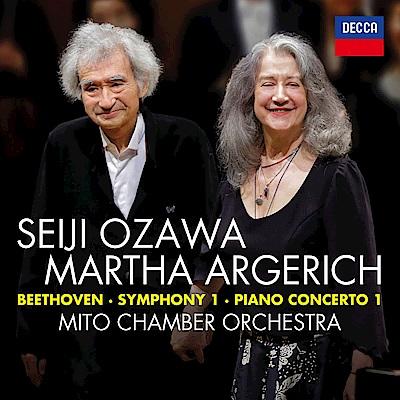 貝多芬/第1號鋼琴協奏曲 交響曲(1CD)