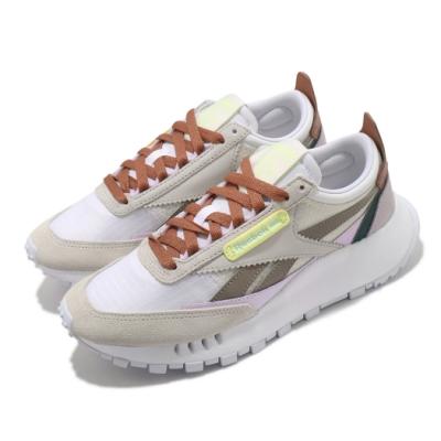 Reebok 休閒鞋 CL Legacy 運動 女鞋 基本款 舒適 簡約 球鞋 穿搭 灰 棕 FY7443