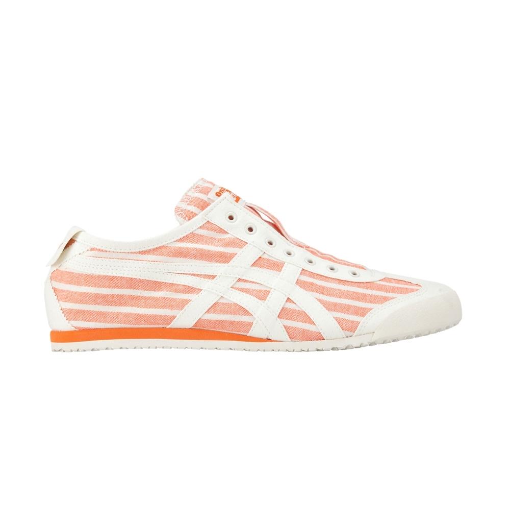 Onitsuka Tiger鬼塚虎-MEXICO 66 SLIP-ON休閒鞋 男女(橘色)-1183A239-801
