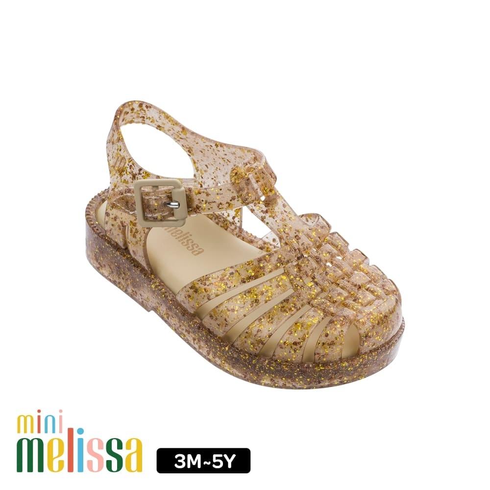 Melissa Baby 閃耀果凍漁夫鞋 閃耀金