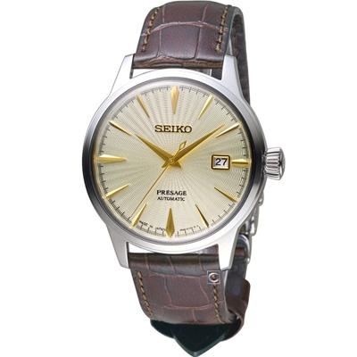 SEIKO Presage 調酒師41小時動力儲存機械腕錶(SRPC99J1)