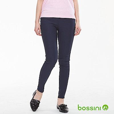 bossini女裝-超彈窄管褲01海軍藍
