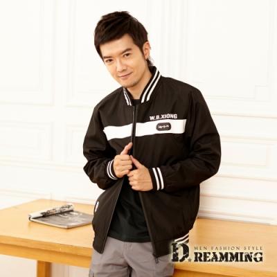 Dreamming 潮流個性徽章防風飛行夾克外套-共二色