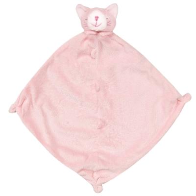 美國 Angel Dear 動物嬰兒安撫巾禮盒版 (粉紅小貓)