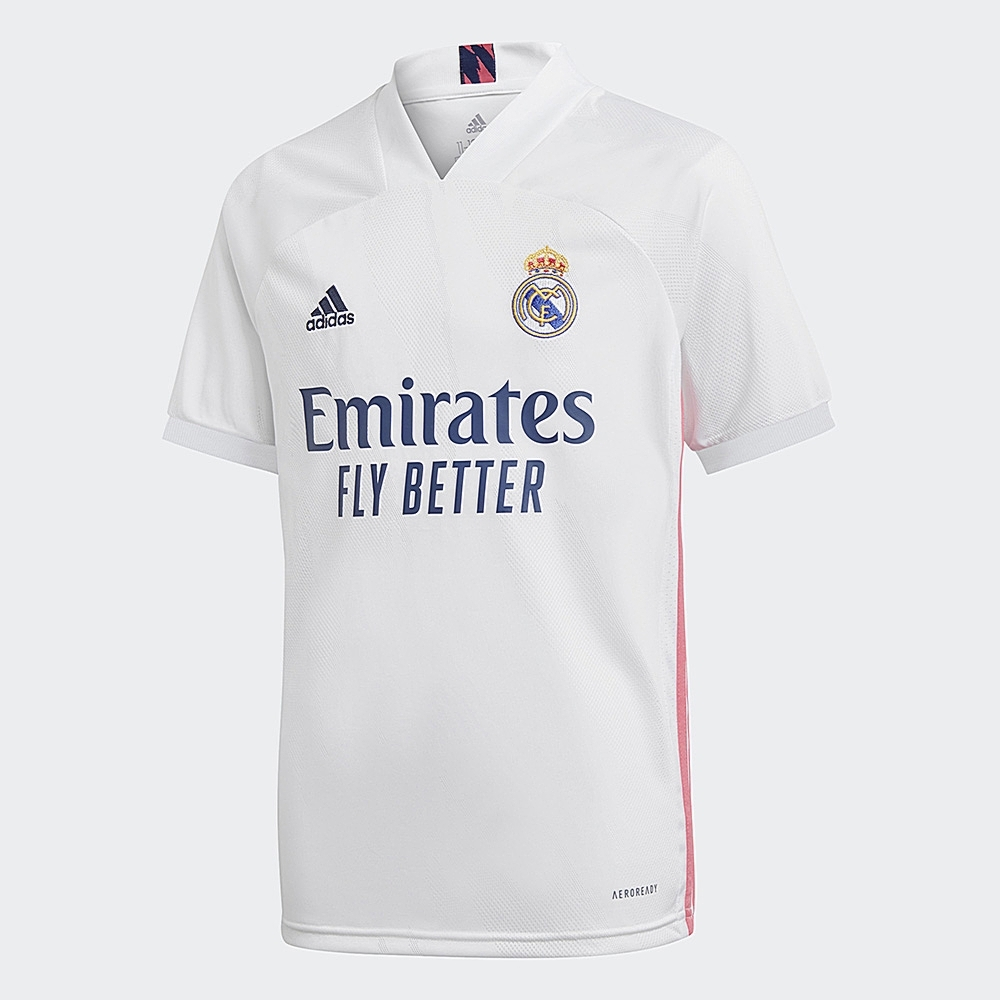 adidas REAL MADRID 20/21 主場球衣 男童/女童 FQ7486 product image 1