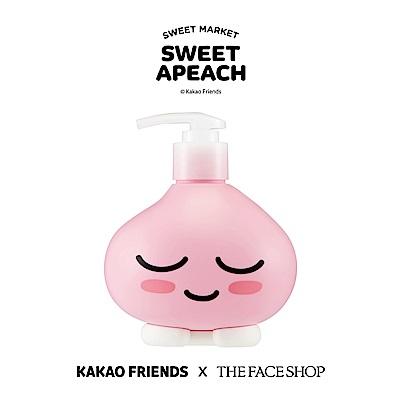 THE FACE SHOP SWEET APEACH 甜桃櫻花身體乳