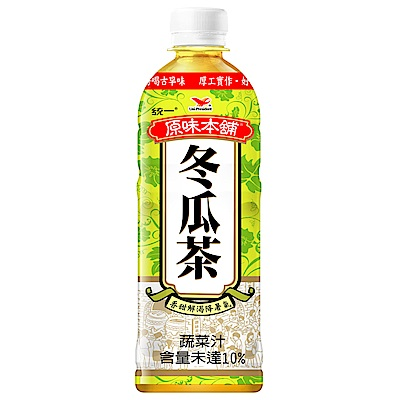統一 原味本舖-冬瓜茶 600ml-24入/箱
