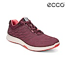 ECCO EXCEED W 時尚流線壓紋運動休閒鞋 女-酒紅色