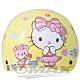 熊Kitty兒童機車安全帽-黃色(贈短鏡片) product thumbnail 1