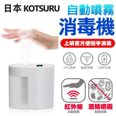 【日本KOTSURU】上噴式自動噴霧消毒機 酒精 消毒 感應噴霧 防疫必備 噴霧器