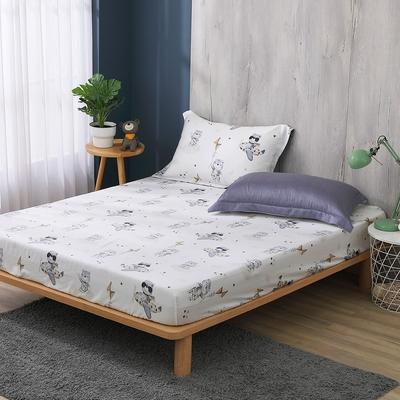鴻宇 雙人床包組 天絲300織 比飛熊 台灣製