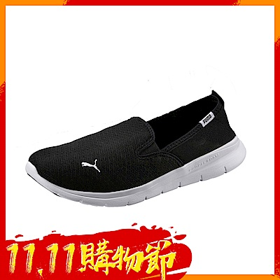 PUMA-PUMAFlexEssentialSlipOn休閒鞋-黑色