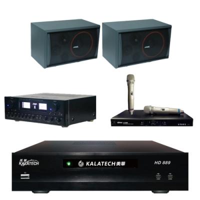 美華 HD-889+SAK-5888+SK-8210+MI-889(伴唱機 3TB+卡拉OK套組)