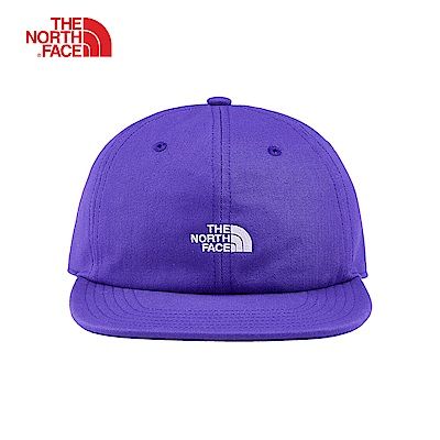 The North Face北面男女款藍紫色防潑水透氣運動帽|3FKH5NX