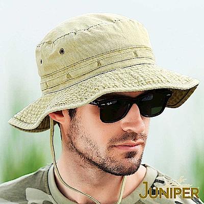 JUNIPER 全棉抗UV寬邊防潑水超大頭圍遮陽漁夫帽