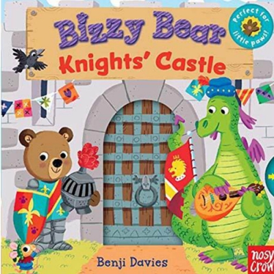 Bizzy Bear:Knights Castle 城堡騎士熊熊新奇操作書(美國版)
