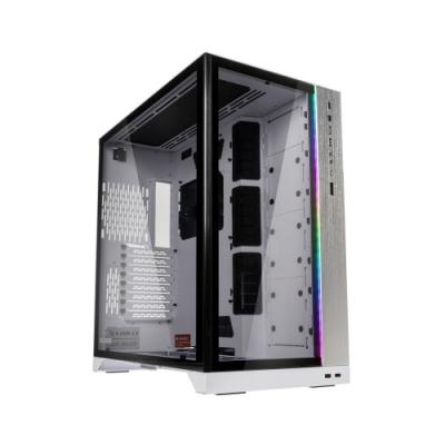 LIAN LI 聯力 O11 Dynamic XL ROG Certified E-ATX玻璃透側機殼(白) - PC-O11DXL-W ROG