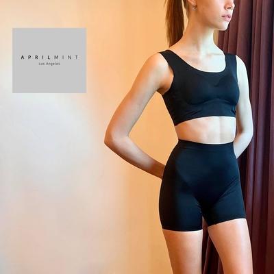 APRIL MINT Los Angeles Mimi Power Bottom 無痕塑形 穩定骨盆 翹臀褲(兩件組合)