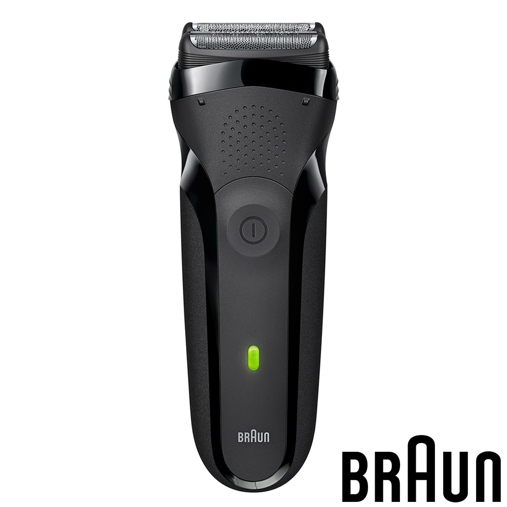 (福利品)德國百靈BRAUN-三鋒系列電鬍刀300s(黑色)