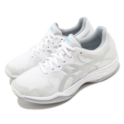 Asics 排球鞋 Gel Tactic 運動 女鞋 亞瑟士 室內場地 吸震 回彈 耐磨 亞瑟膠 白銀 1072A035103