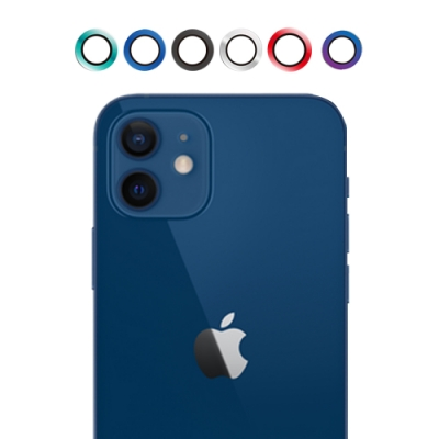 UNIQTOUGH iPhone12 AR 航太鋁合金康寧玻璃金屬鏡頭環 / 六色