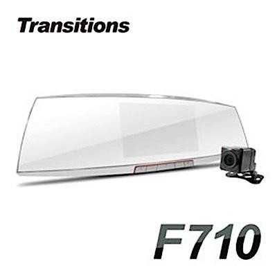 全視線 F710 聯詠96663 SONY感光元件 Full HD 前後雙鏡頭行車紀錄器