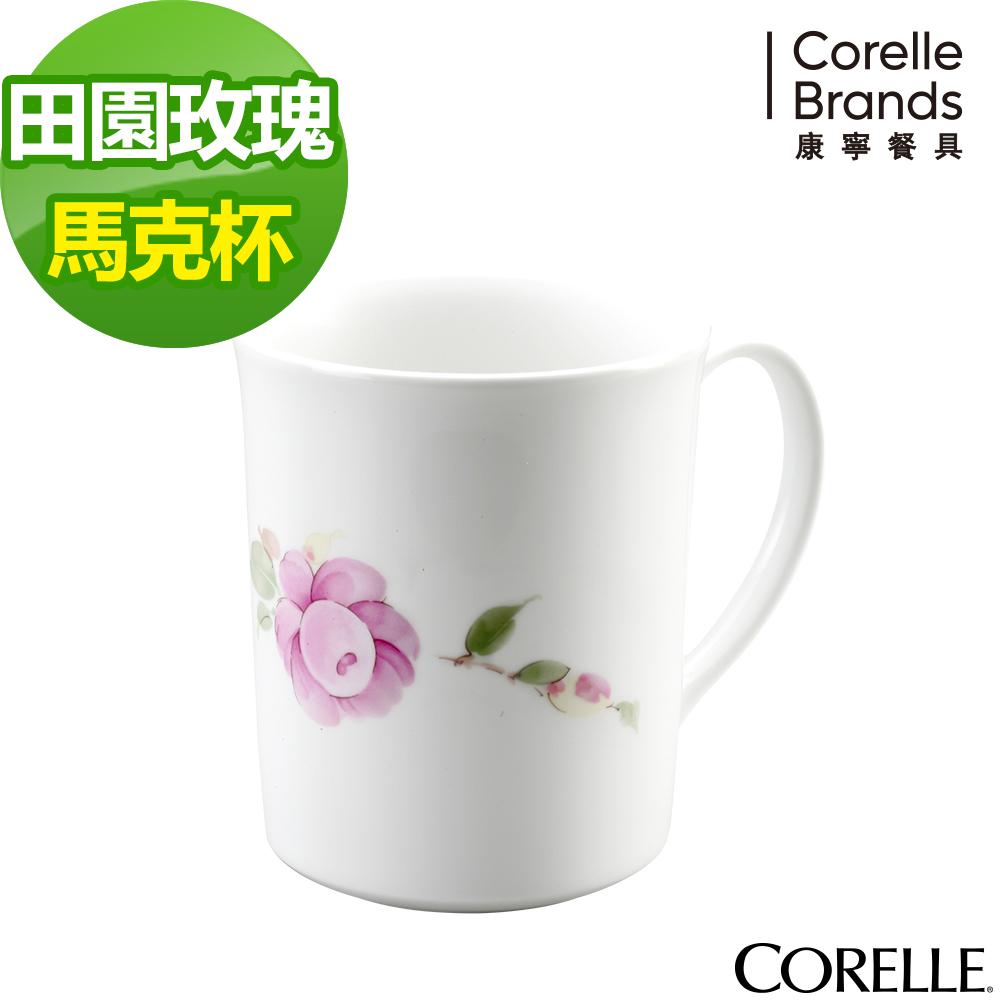 CORELLE康寧 田園玫瑰馬克杯300ml