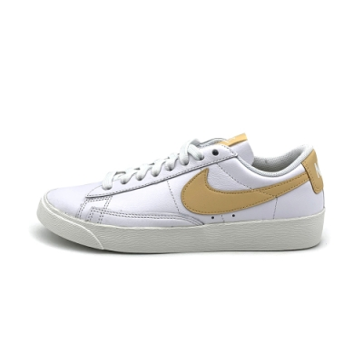 Nike Blazer Low LE 女休閒鞋-白黃-AV9370117