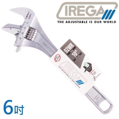 【IREGA】92WR管鉗兩用活動板手-6吋