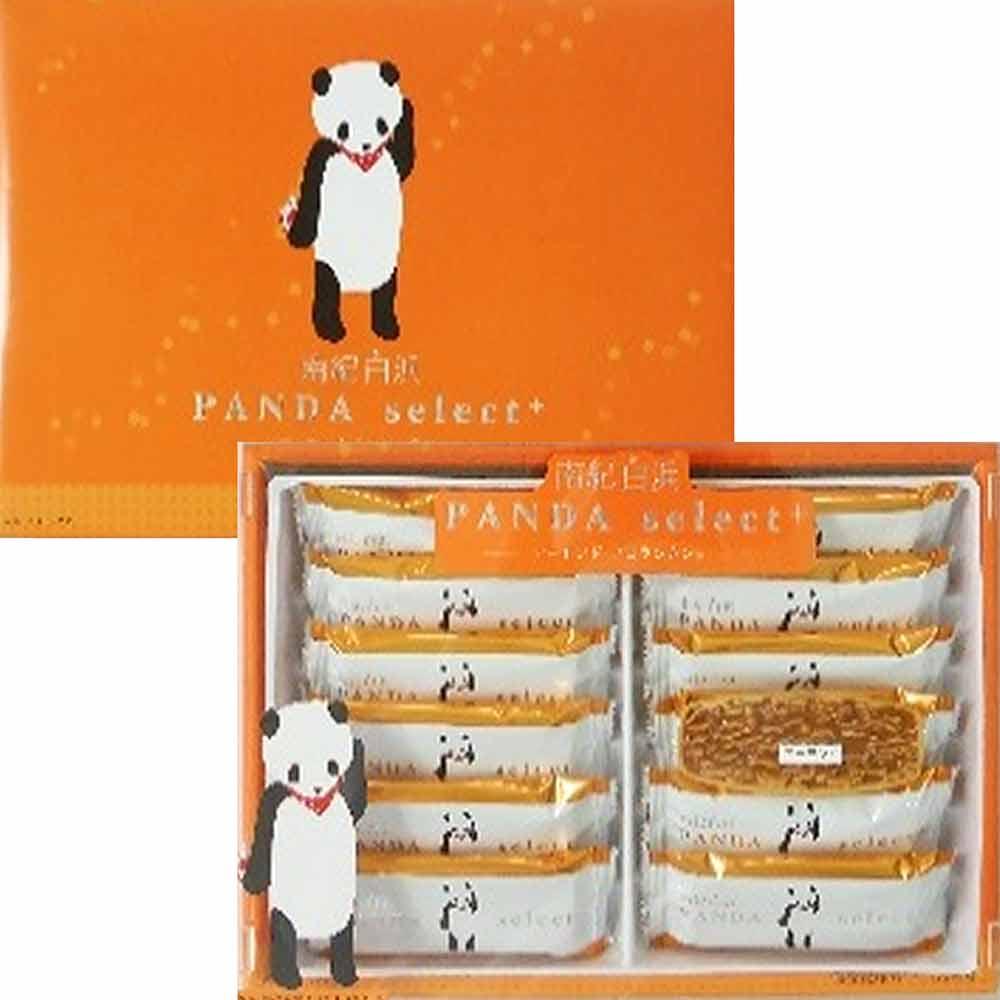 丸三 熊貓杏仁酥船型餅乾禮盒(90g)