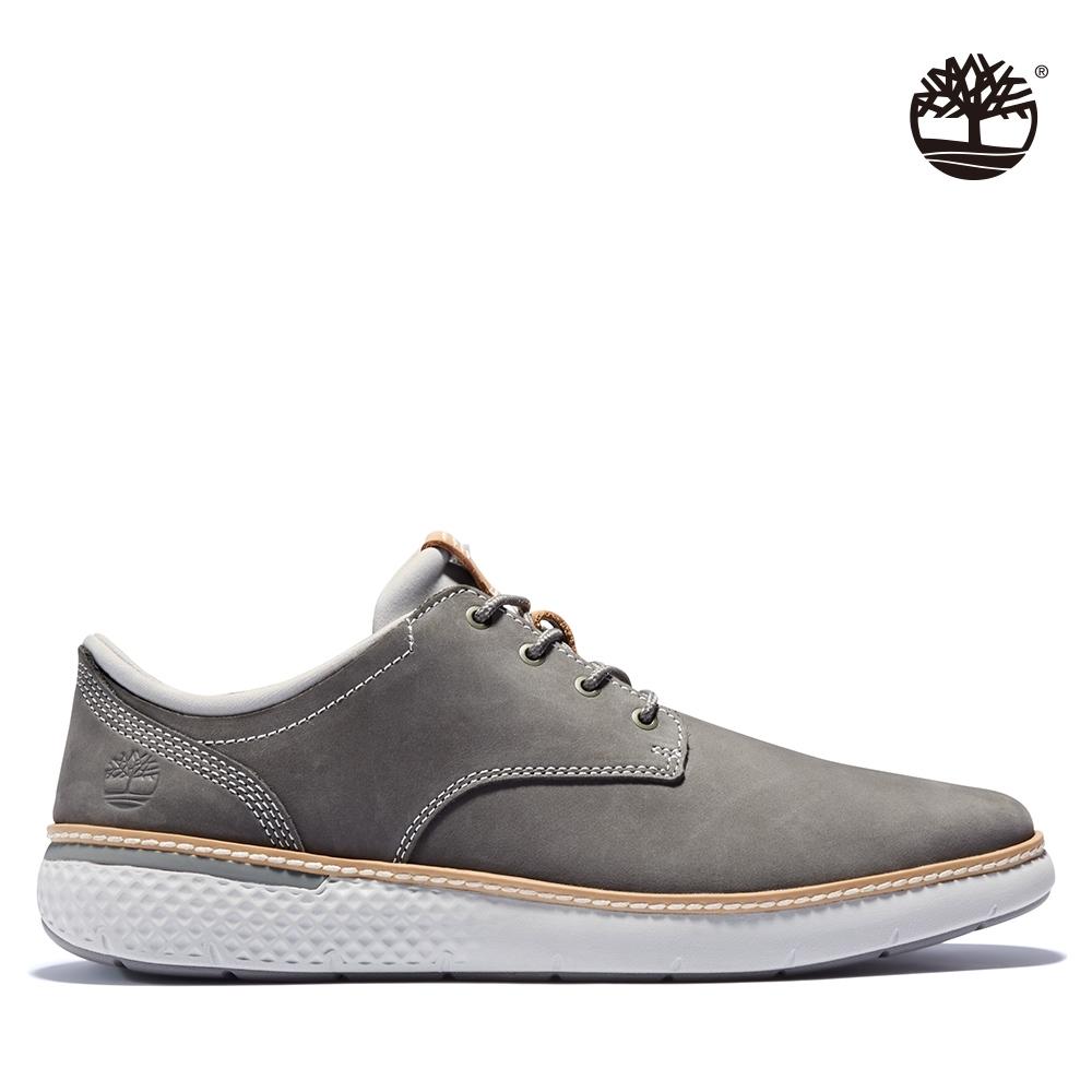 Timberland 男款中灰色磨砂革牛津鞋 A2E7T