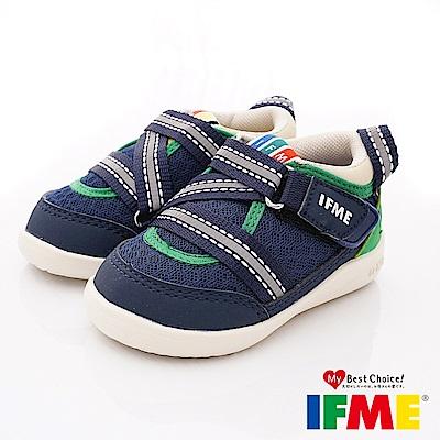 IFME健康機能鞋 超輕學步款 EI00056深藍(寶寶段)