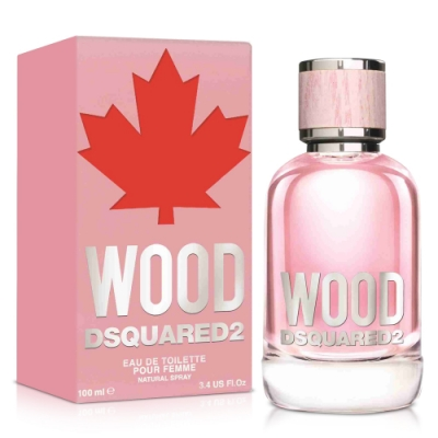 DSQUARED2 WOOD 天性女性淡香水100ml