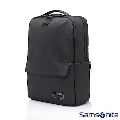 Samsonite新秀麗 Varsity輕量多夾層筆電後背包14(黑色)