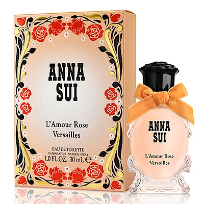Anna Sui 安娜蘇 凡爾賽玫瑰女性淡香水30ml-快速到貨