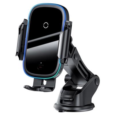 BASEUS 倍思 City Lights 無線充電吸盤式手機支架 (4.5 ~6.5吋 適用)