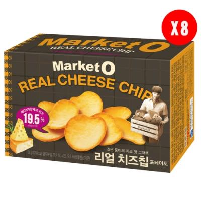 Market O起司洋芋片62gx8盒箱