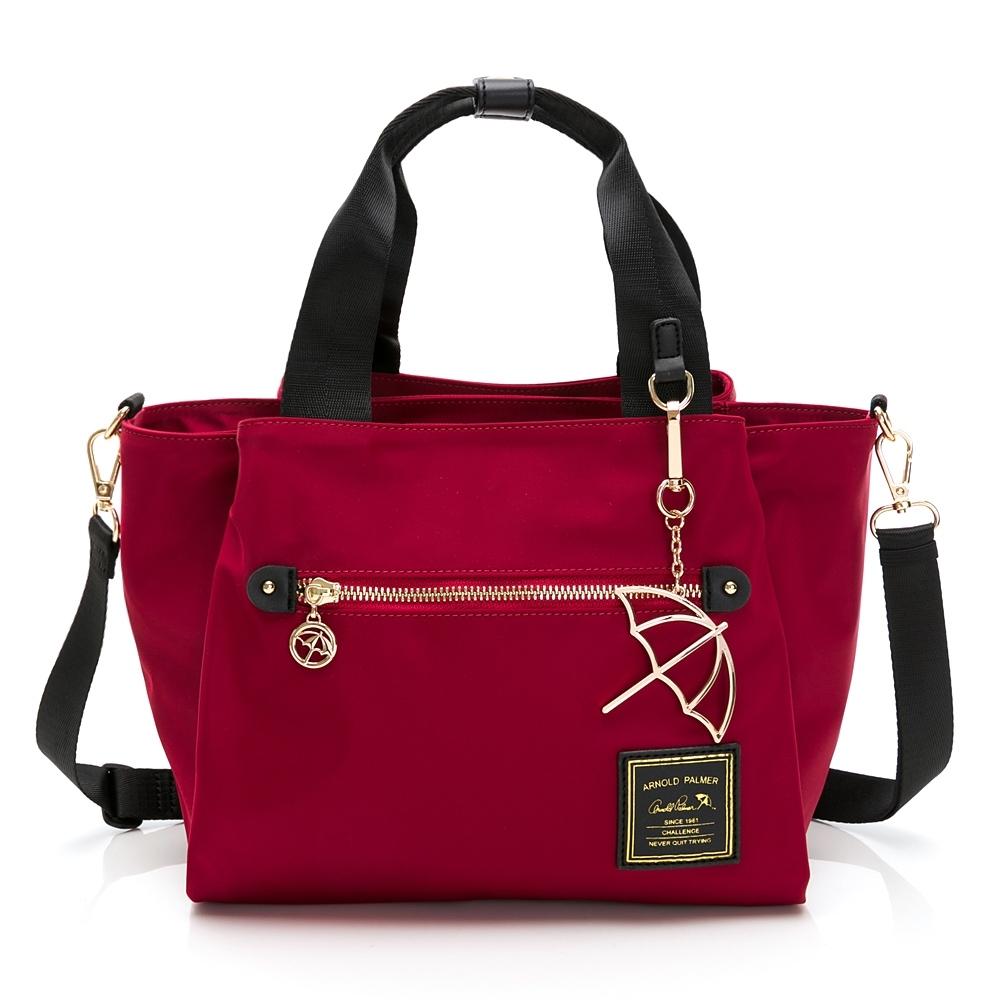 Arnold Palmer- 手提包附長背帶 多彩手提包系列-紅色