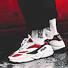(男女) FILA VENOM 94復古慢跑鞋-白紅