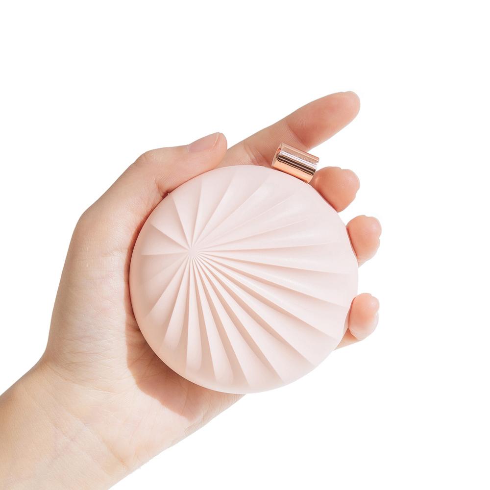 QHL 酷奇 貝殼移動式香氛機+玫瑰香氣純露 兩色任選
